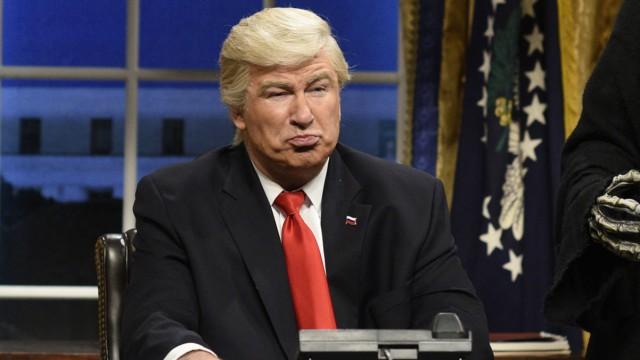 Trump-Satire in US-Late Night Show
