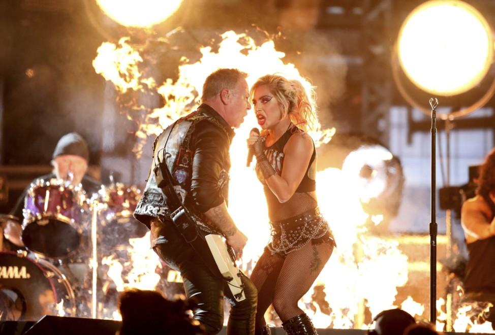 Metallica, Lady Gaga, James Hetfield