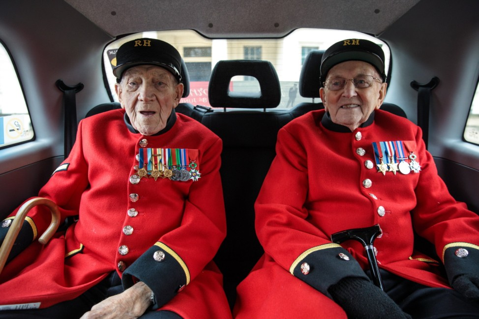 Black Cab Veterans Charity Launches Final Normandy Trip