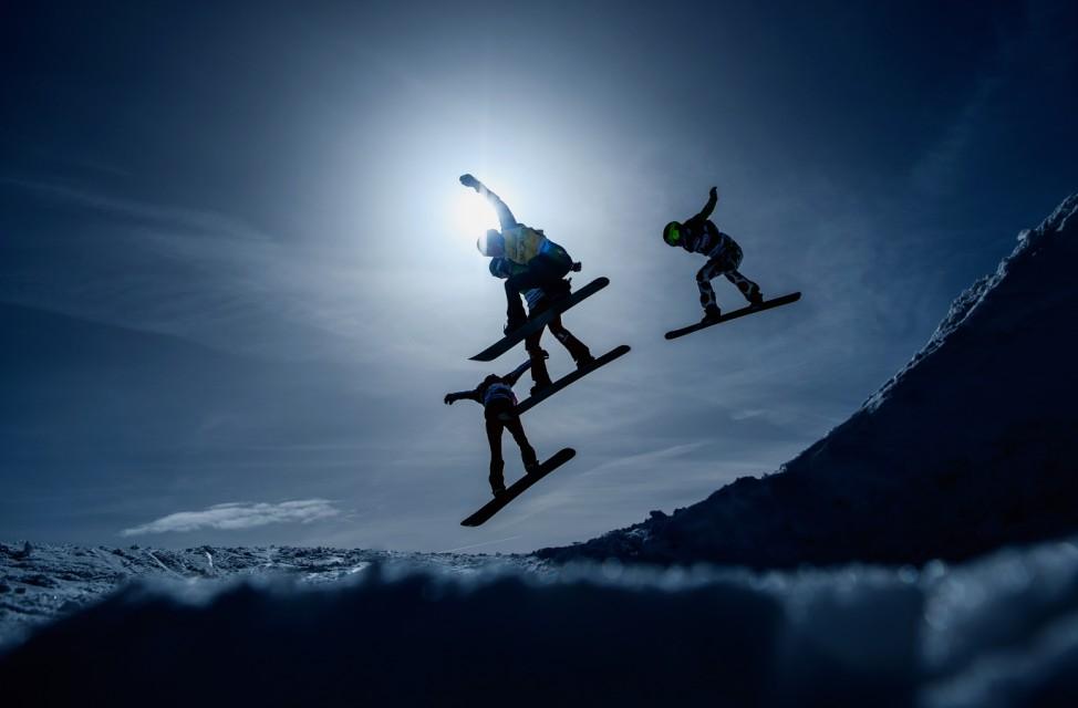 BESTPIX - FIS Snowboardcross World Cup Feldberg