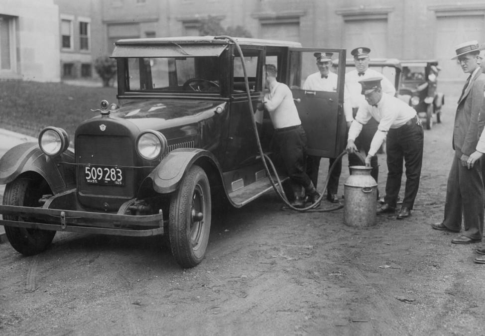 Alkoholschmuggel während der Prohibition in den USA