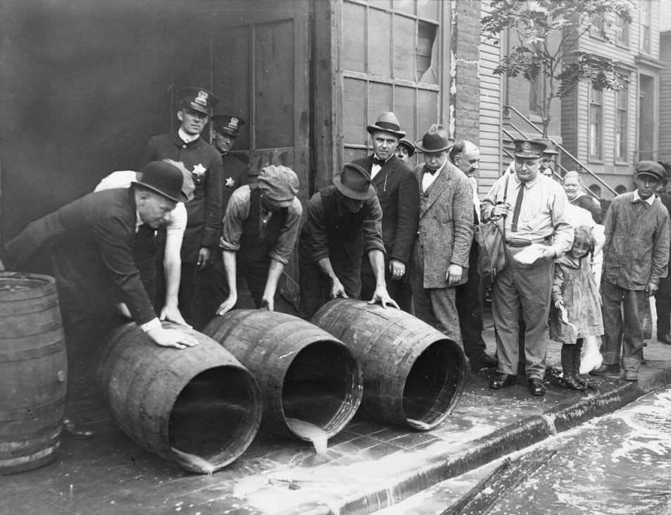 Prohibition in den USA
