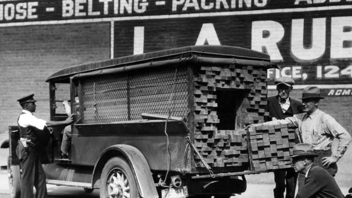 Prohibition: Alkoholschmuggel in Amerika, 1932; Alkoholschmuggel während der Prohibition in den USA