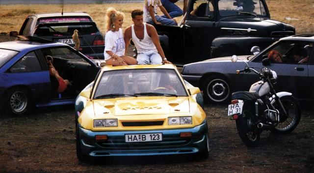 Manta Manta MANTA MANTA D 1991 Regie Wolfgang Büld TINA RULAND TIL SCHWEIGER Stichwort Au