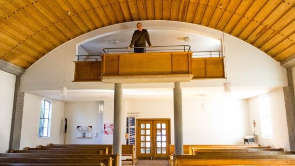 Petrikirche Baldham wg. neuer Orgel