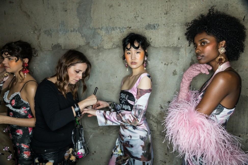 Fashion East - Backstage - LFW February 2017