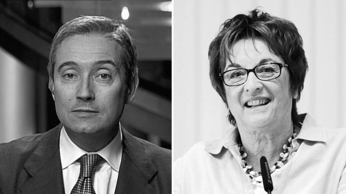 Forum: François-Philippe Champagne, 46, ist liberaler Politiker und neuer kanadischer Minister für Internationalen Handel. Brigitte Zypries, 63, ist seit Jahresbeginn deutsche Bundesministerin für Wirtschaft und Energie.