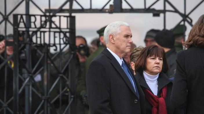 US Vizepräsident in Dachau