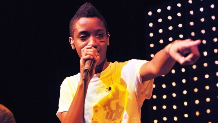 Syd tha Kyd von The Internet live im Mojo Club Hamburg 15 07 2014 xI xSchifflerx xFuturexImage