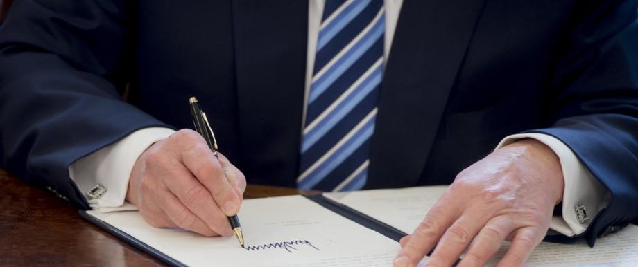 US Senator Jeff Sessions Sworn In As Attorney General