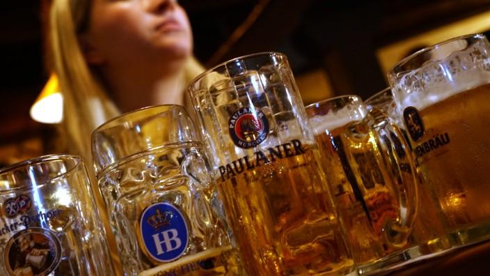 Oktoberfest: Wieviel Umsatz die Wiesn-Wirte mit ihrem Bier tatsächlich machen, weiß außer ihnen niemand so genau.