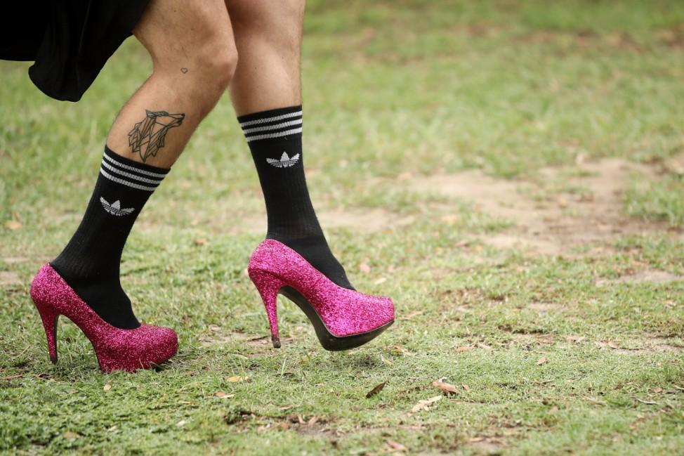 Runners Frock Up For The Little Black Dress Run