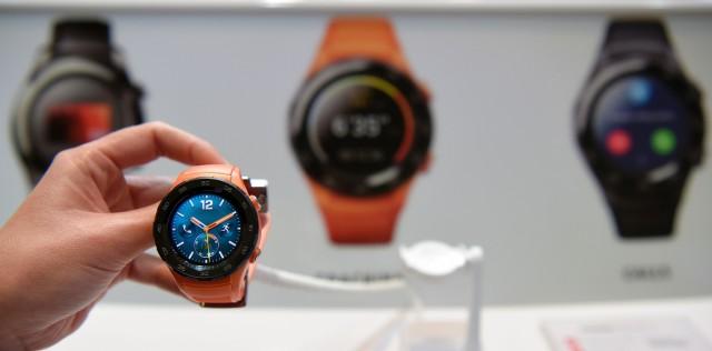 Die Huawei Watch 2 auf dem Mobile World Congress 2017
