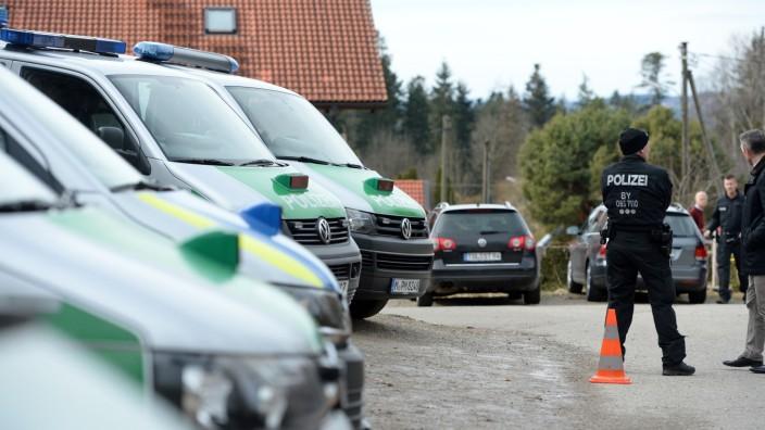 Zwei Tote bei Gewaltverbrechen in Oberbayern