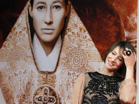 Pilgern zur Päpstin, Kino-Premiere in Berlin, Johanna Wokalek; Foto: Reuters