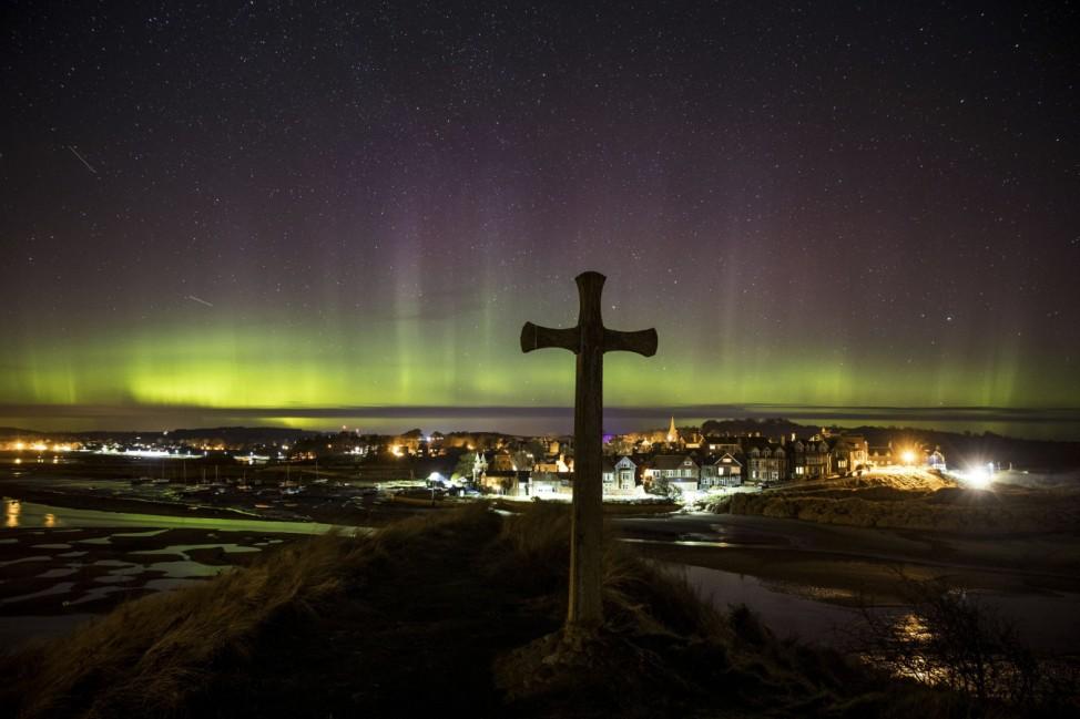 Polarlichter in Großbritannien