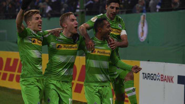 Football Soccer - HSV Hamburg v Borussia Moenchengladbach