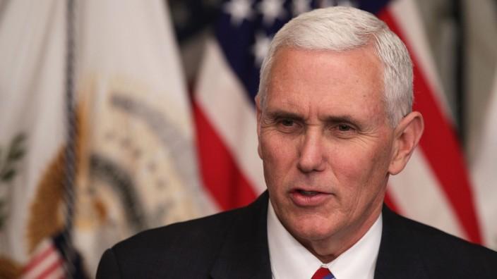 Vice President Pence Swears In Ben Carson As HUD Secretary