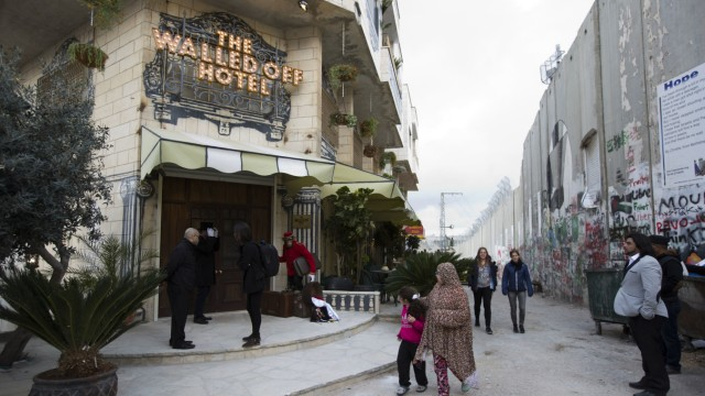 'The Walled Off Hotel' in Bethlehem