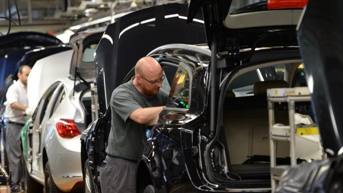 Opel-Produktion in Rüsselsheim