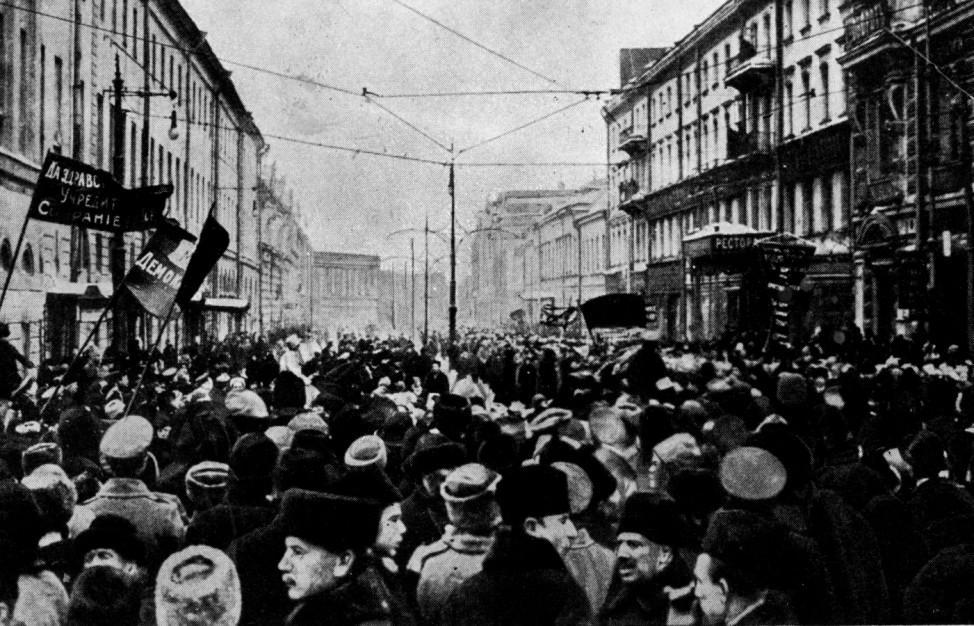 Februarrevolution in Rußland, 1917