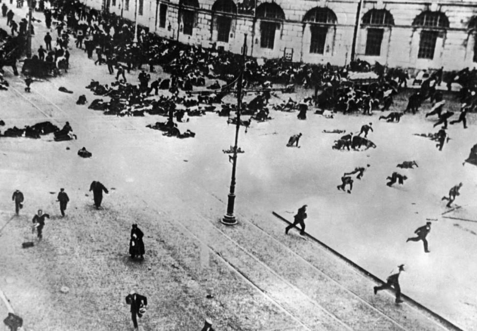 Die Regierung Kerenski in Russland 1917; Juliputsch 1917 Russland Revolutionsjahr