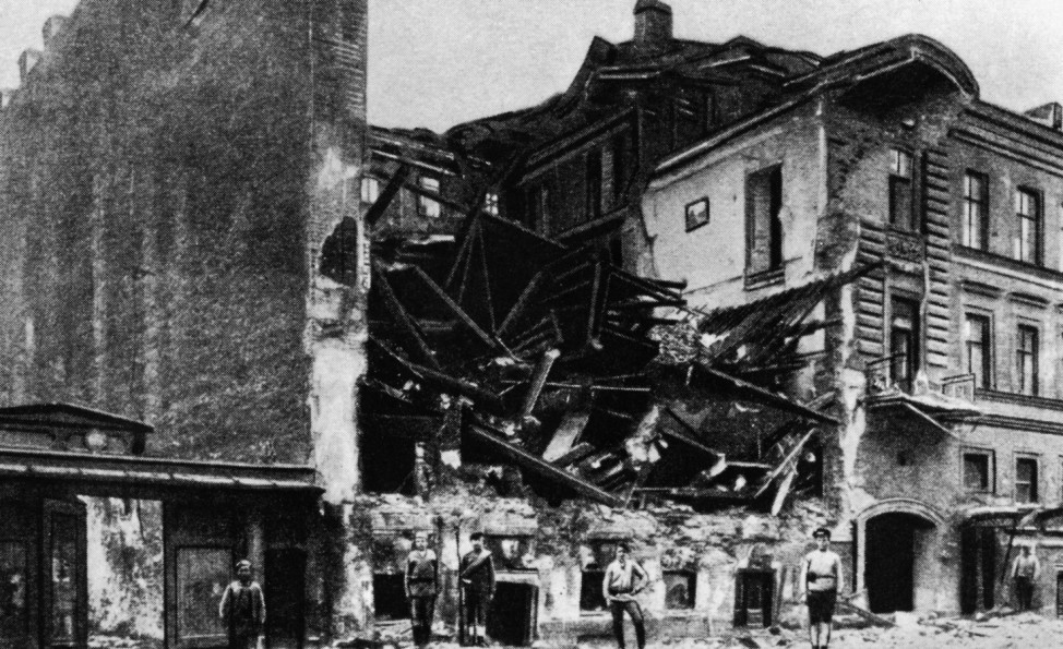 Die Februar-Revolution in Russland 1917; Russland Revolutionsjahr 1917