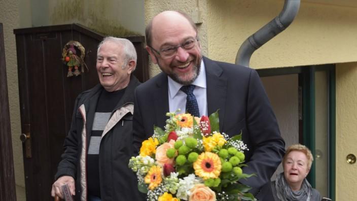 SPD-Kanzlerkandidat Martin Schulz besucht das Saarland
