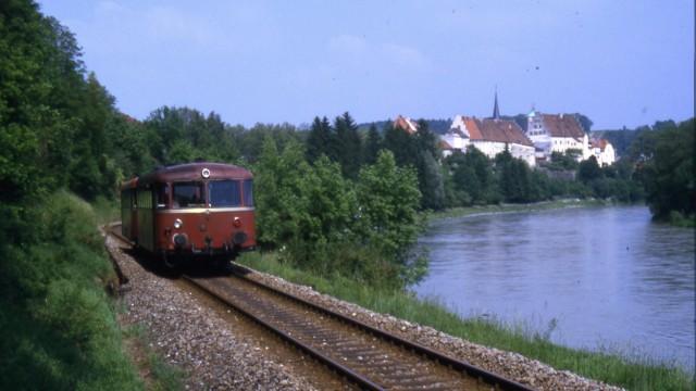 Dammrutsch Bahnstrecke Wasserburg
