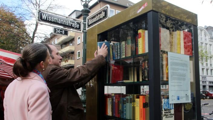 Offene Bücherschränke