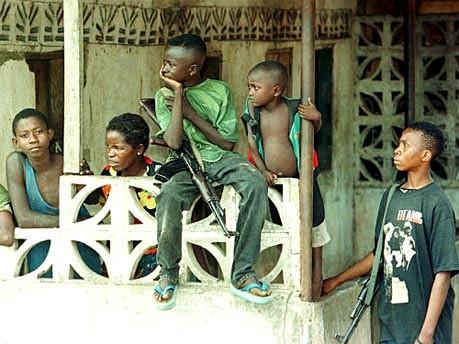 Kindersoldaten in Sierra Leone