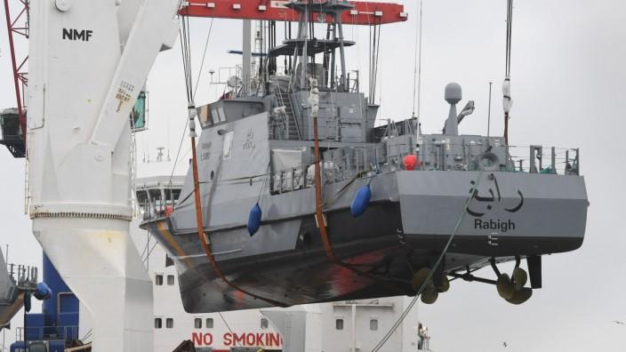 Küstenschutzboot für Saudi-Arabien