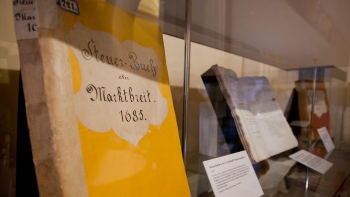 Offizielle Übergabe des Schwarzenberg-Archivs