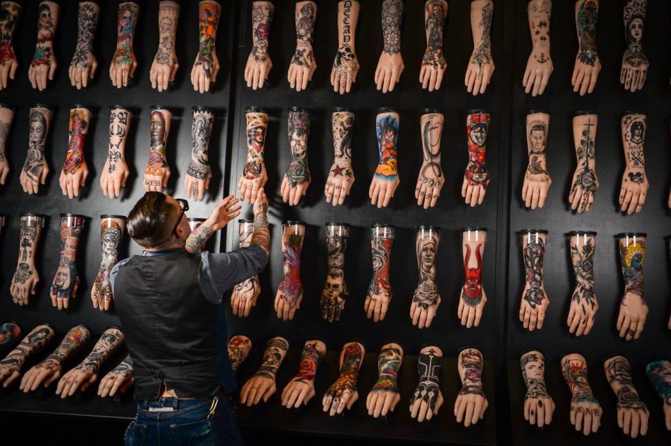 Tattoo-Ausstellung in Großbritannien