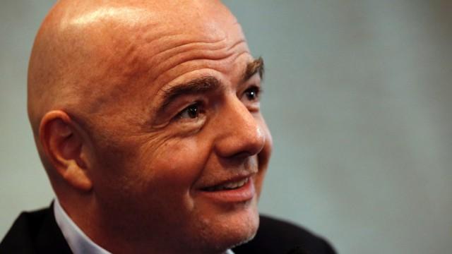 Fußball-Weltverband: Was ist sein Plan? Fifa-Präsident Gianni Infantino.