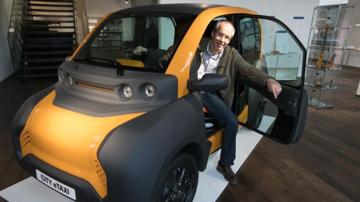 Adaptive City Mobility bei seiner Vorstellung in München