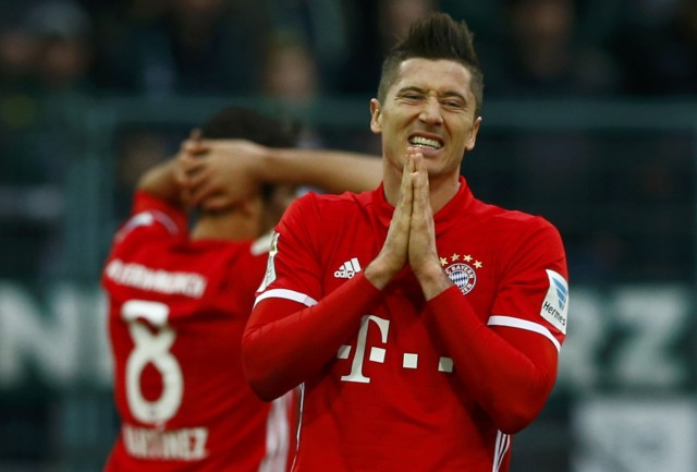 Football Soccer - Borussia Moenchengladbach v Bayern Munich - German Bundesliga