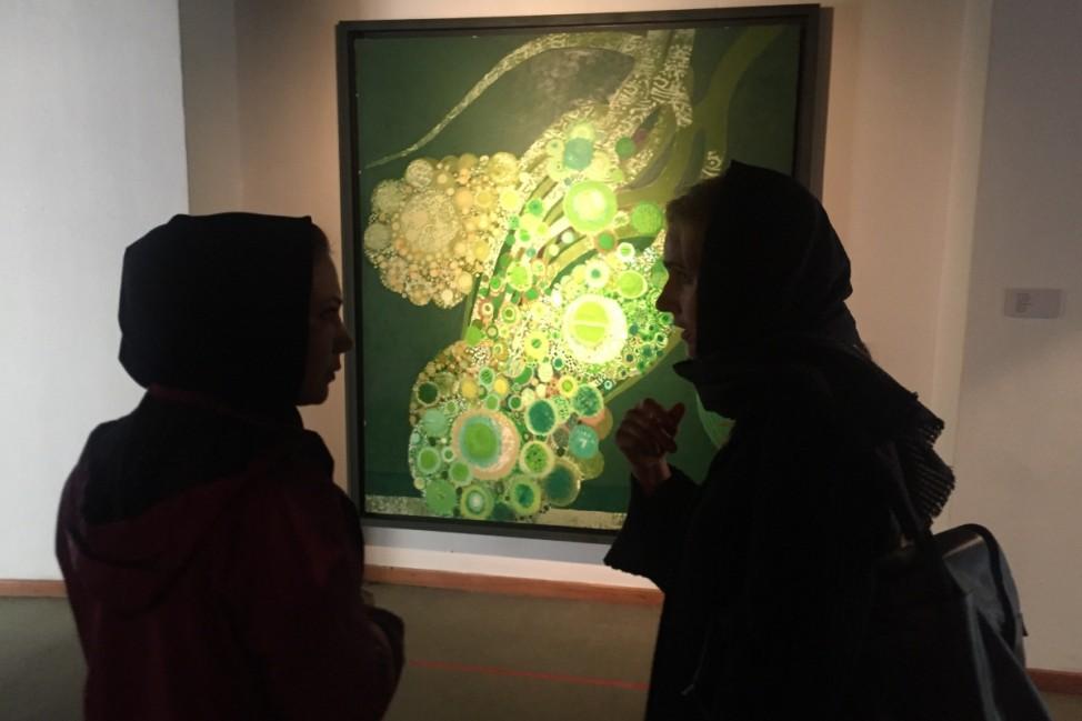 Kunstausstellung Teheran
