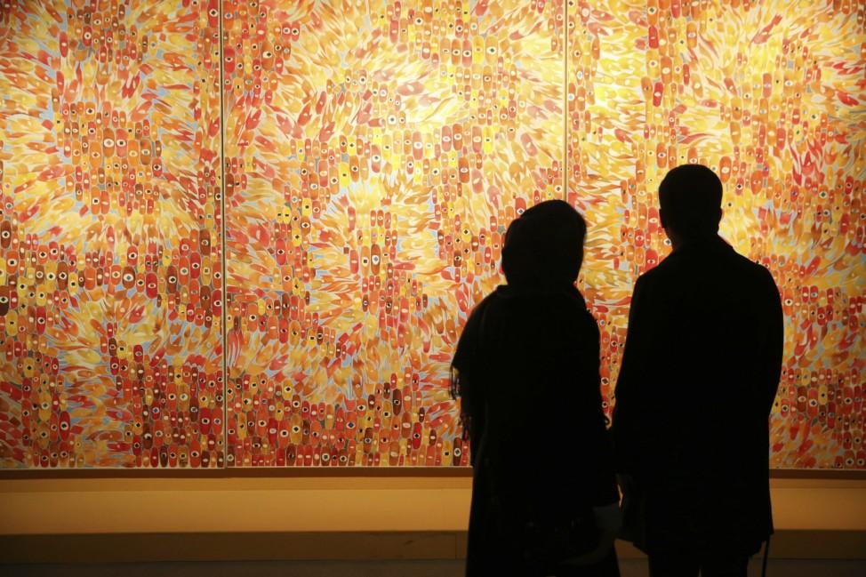 Kunst-Ausstellung in Teheran