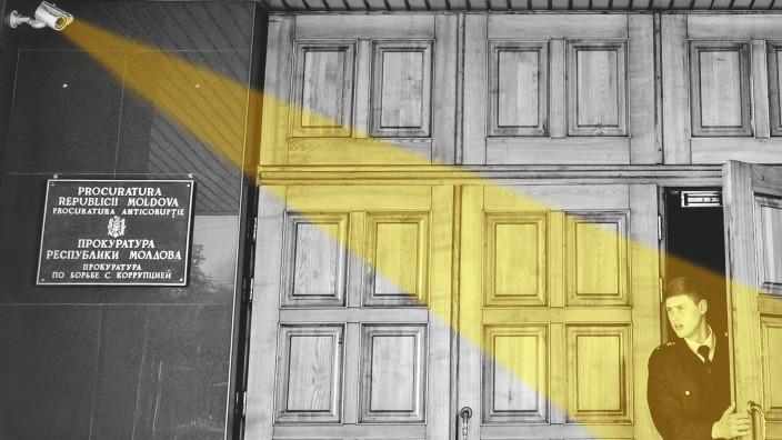 Geldwäsche: Hier wird ermittelt: das nationale Antikorruptionszentrum der Republik Moldau.