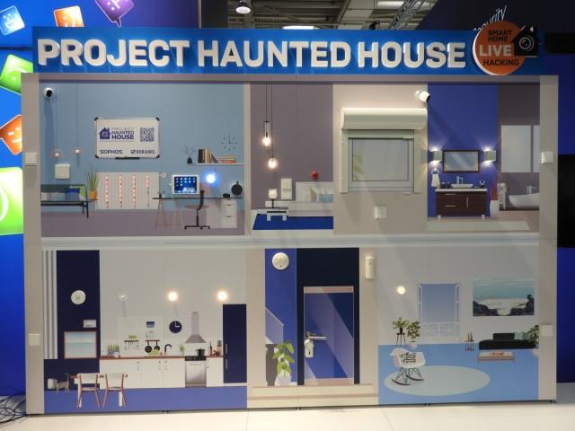 Sophos Haunted House auf der Cebit 2017