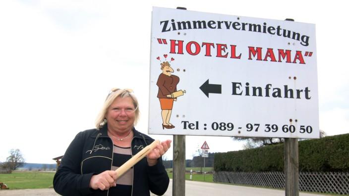 Rosemarie Reckstadt und ihr Hotel; Rosemarie Reckstadt führt das