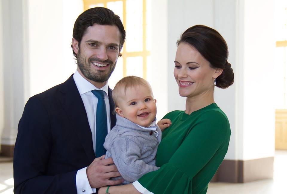 Carl und Sofia von Schweden, Sohn Alexander