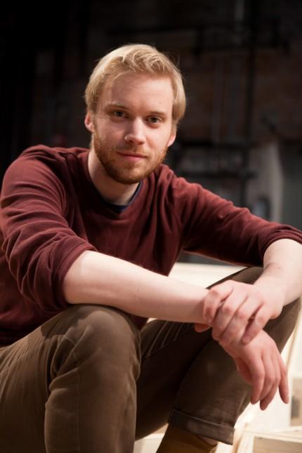 Junger Regisseur Swen Lasse in den Kammerspielen