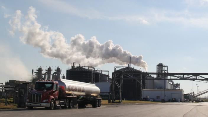 Monsanto-Fabrik in Sauget bzw. Monsanto, Illinois