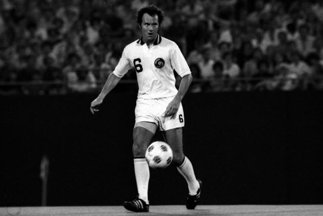 Franz Beckenbauer New York Cosmos; Franz Beckenbauer