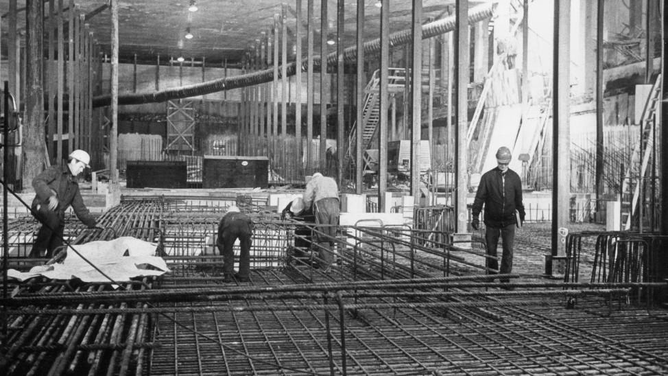 Unterirdisches Bauwerk des Marienplatzes, 1969