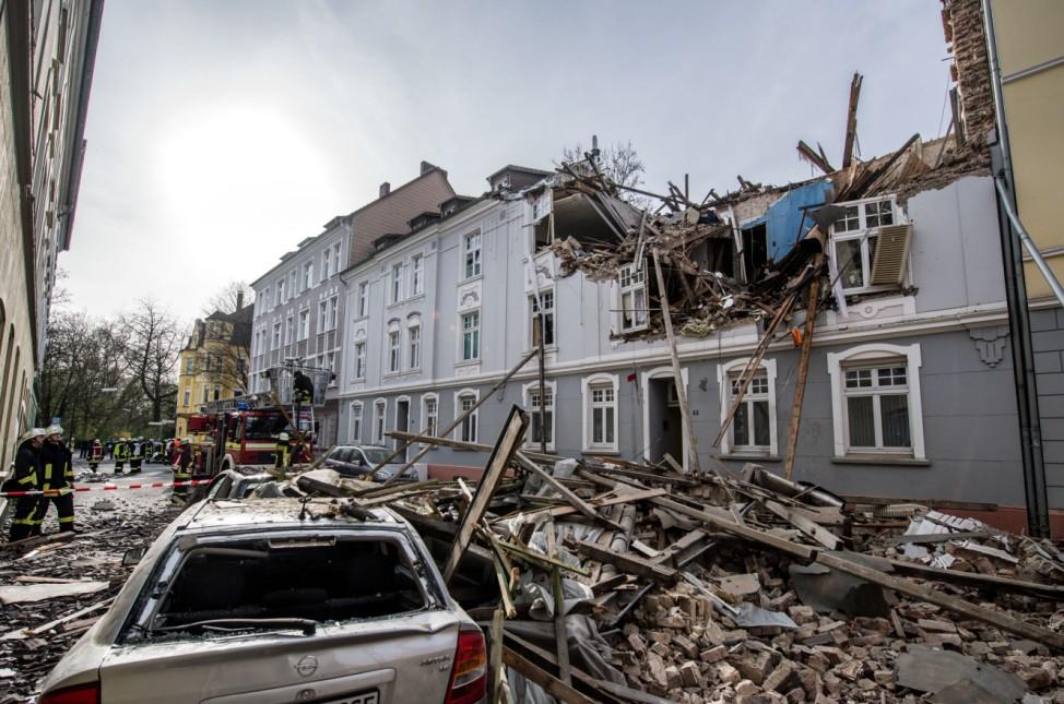 Wohnhaus in Dortmund explodiert