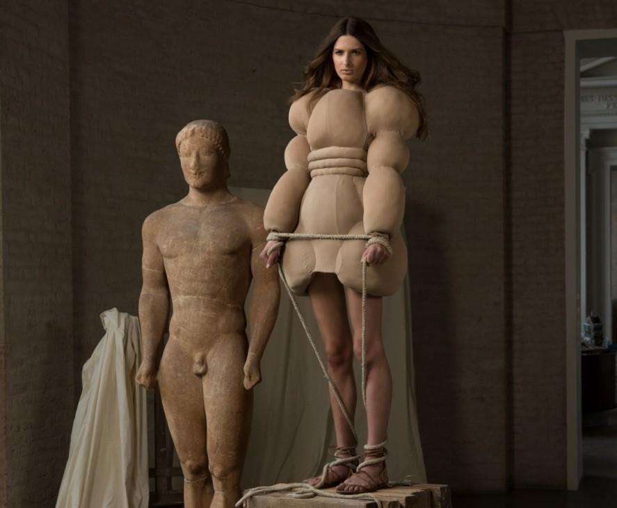 Mode in der Glyptothek