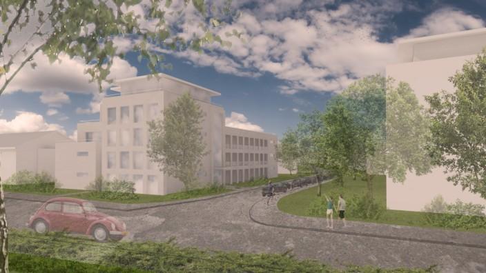 Pullach: Die Planung für 20 Wohnungen an der Heilmannstraße in Pullach bleibt umstritten.